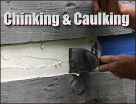 Chinking And Caulking  Spartanburg County,  South Carolina